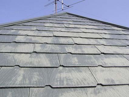 カラーベスト屋根の劣化