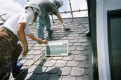 屋根板金塗装の写真