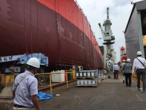 工業部 視察 造船所④